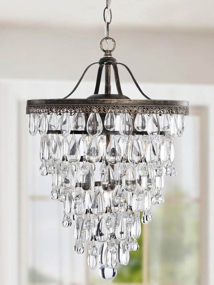 The best cheap chandeliers 10 affordable styles to choose bob vila crystal chandelier aloadofball Image collections