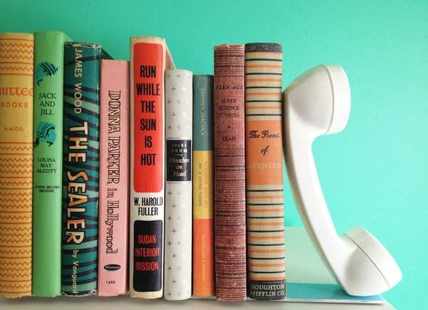 DIY Phone Bookend