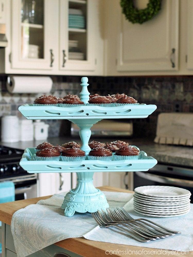Diy cupcake stand 20