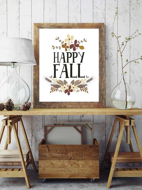 Kohl/'s Celebrate Fall Together Harvest Glass Light-up Lantern Red Home Decor 13