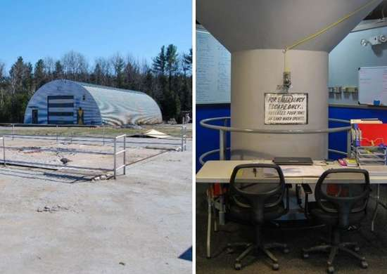 Vintage Missile Silo Home in New York