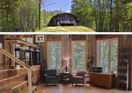 Off-the-Grid House for Preppers