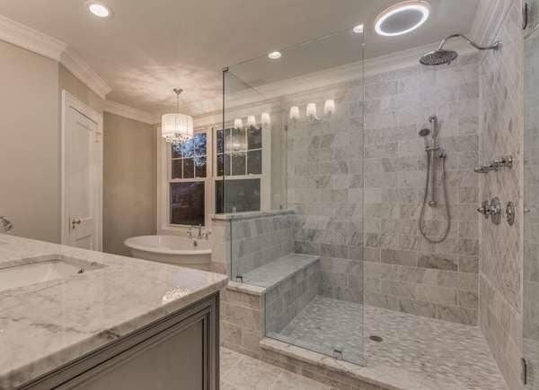 Built-in Shower Bench