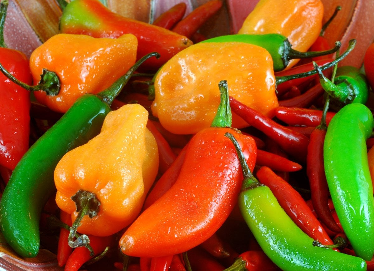 Microwave peppers