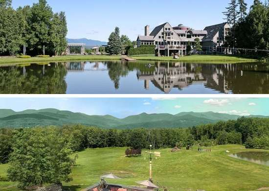 Mansion in Stowe, VT
