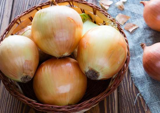 Do not refrigerate onions