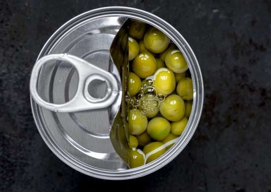 Do not refrigerate canned goods
