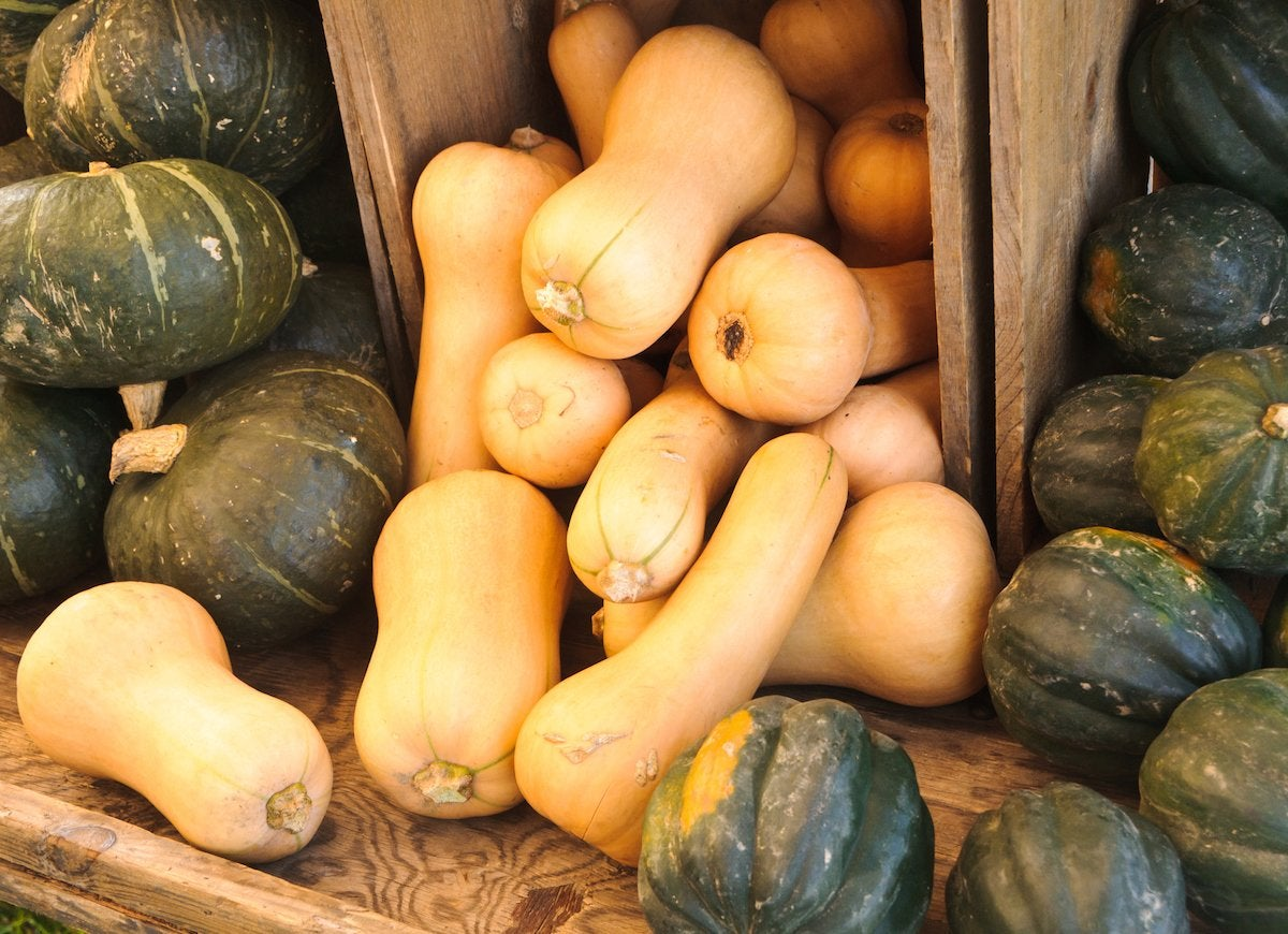 Do not refrigerate winter squash