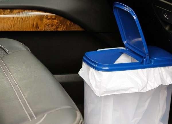 Car Trash Can DIY