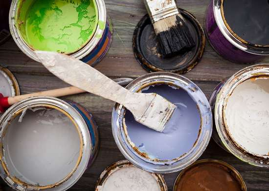 Leave Leftover Paint When Moving