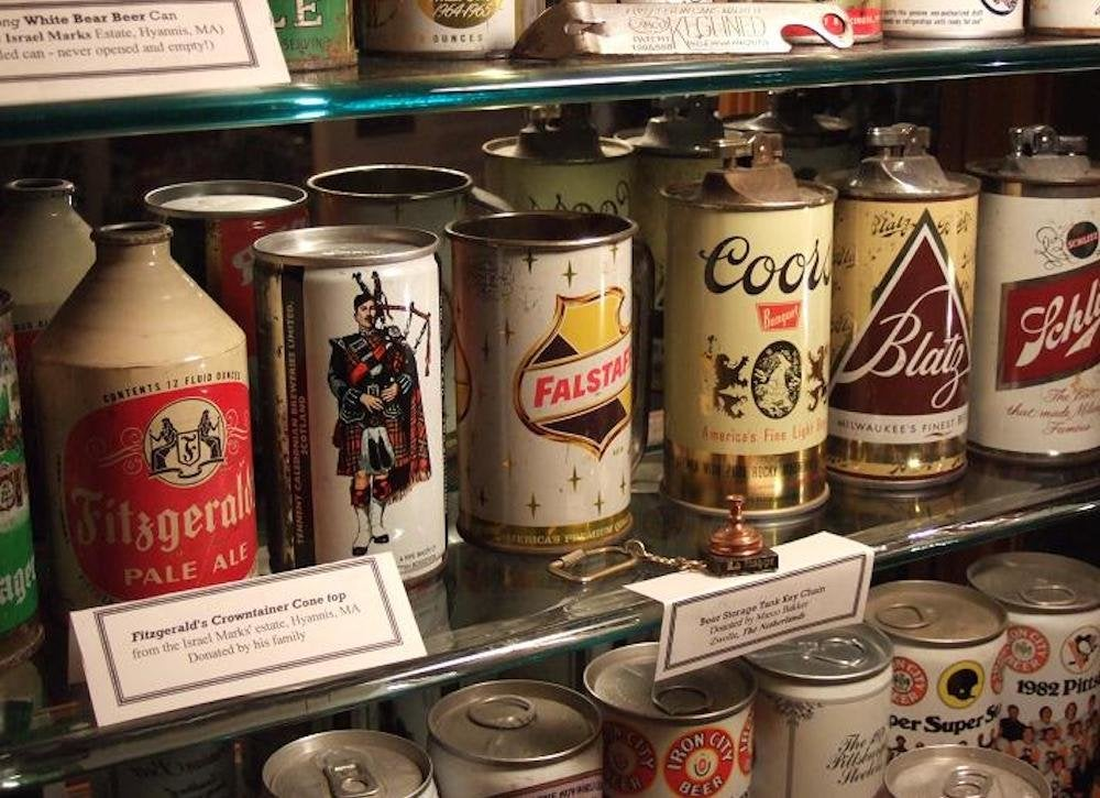 Beer can museum