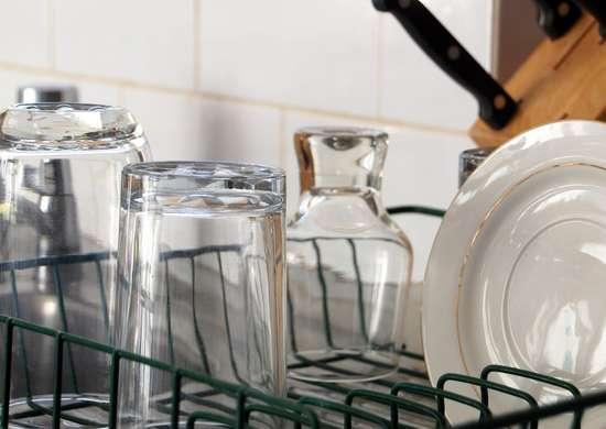 DIY Dish Drying Rack