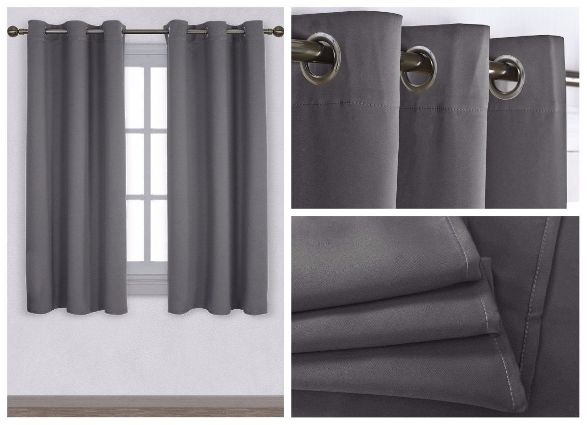 Thermal blackout curtains