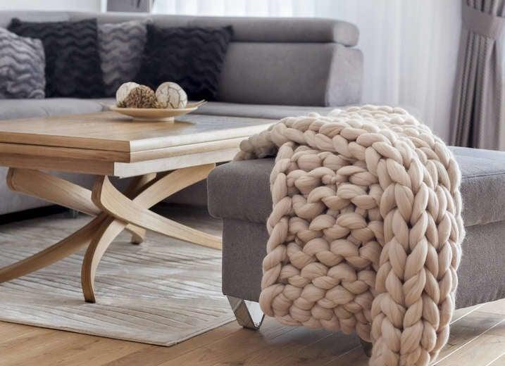 Handmade Knit Blanket