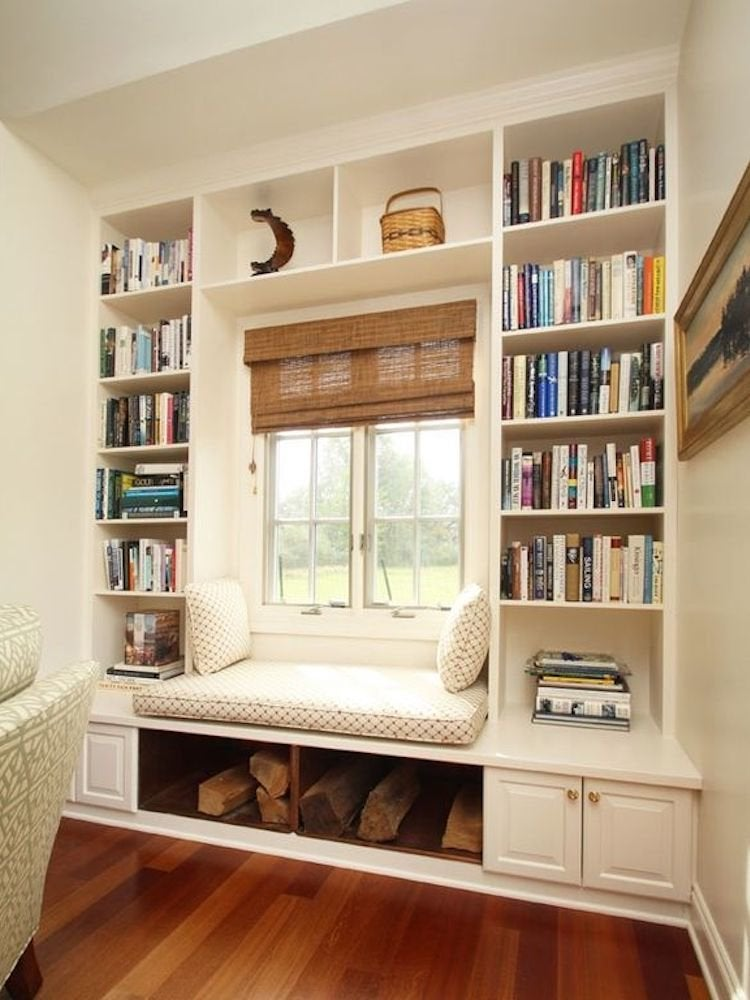 Diy book nook