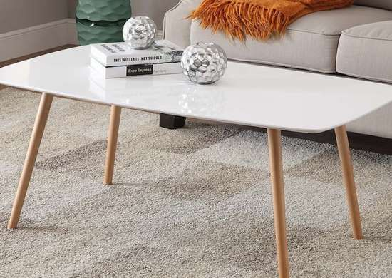 White Top Coffee Table