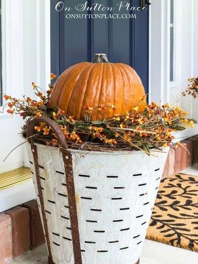 Pumpkin Display Ideas