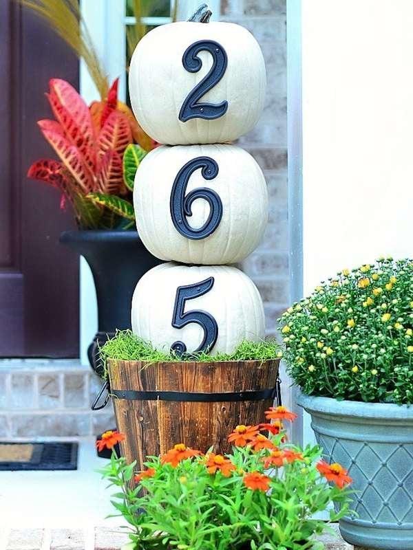 Unique House Number Ideas