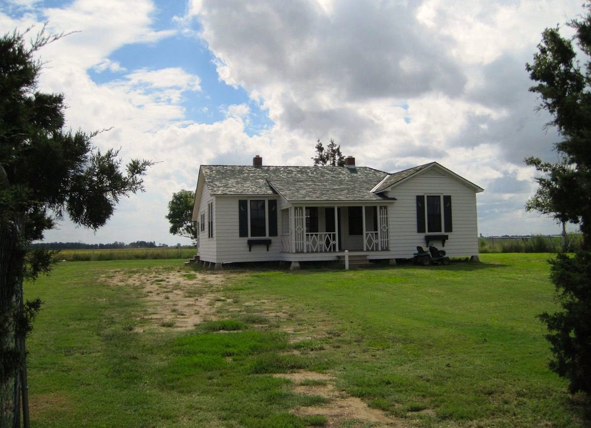 Johnny cash boyhood home