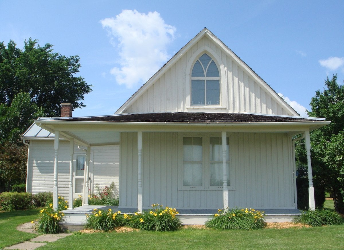 American gothic house