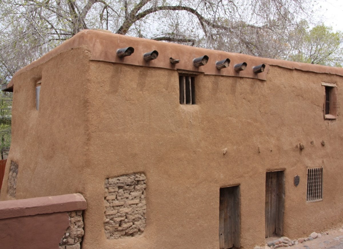 Santa fe oldest house