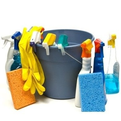 Basement-cleaning-supplies