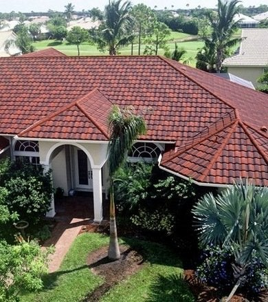 Metal roof options bob vila for Mediterranean roof styles