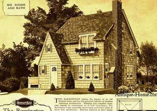 Sears Barrington Kit House