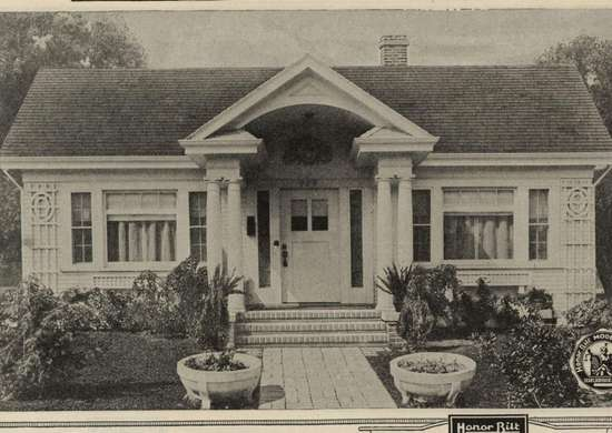 Sears Crescent Kit Home