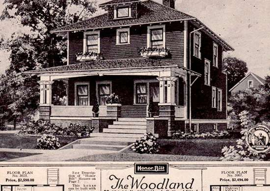 Sears Woodland Kit Home