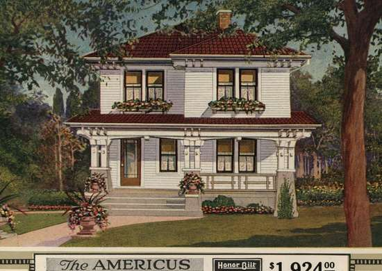 Sears Americus Kit Home