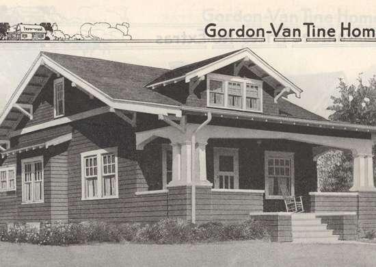 Gordon Van Tine Kit Home