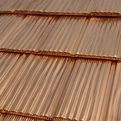 Shake copper roofing 01
