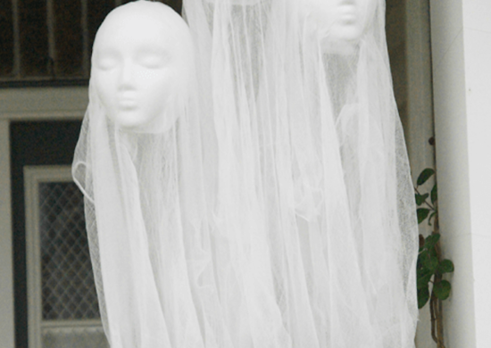 Halloween Ghost Heads