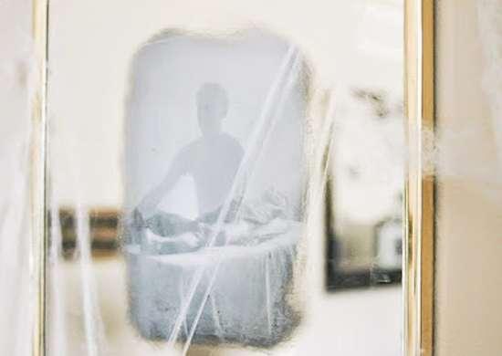 Halloween Ghost Mirror