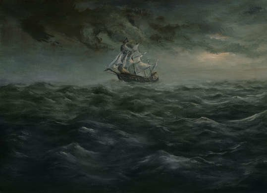 Shipwreck Painting Superstition