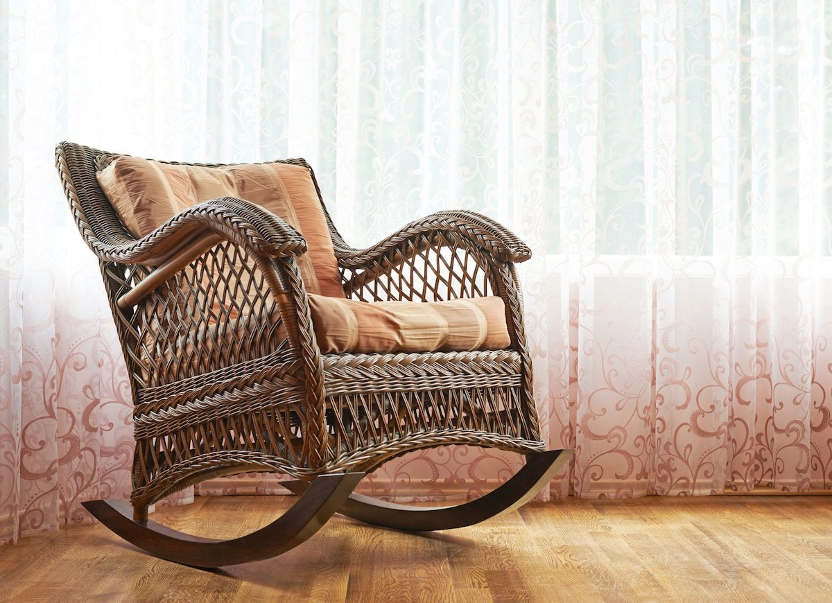 Empty Rocking Chair & 16 Bad Luck Superstitions Hiding in the House - Bob Vila
