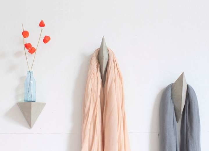 Multifaceted Coat Hooks