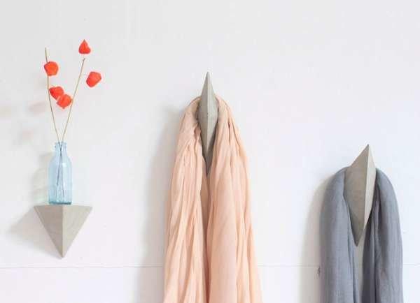 Multifaceted Coat Hooks