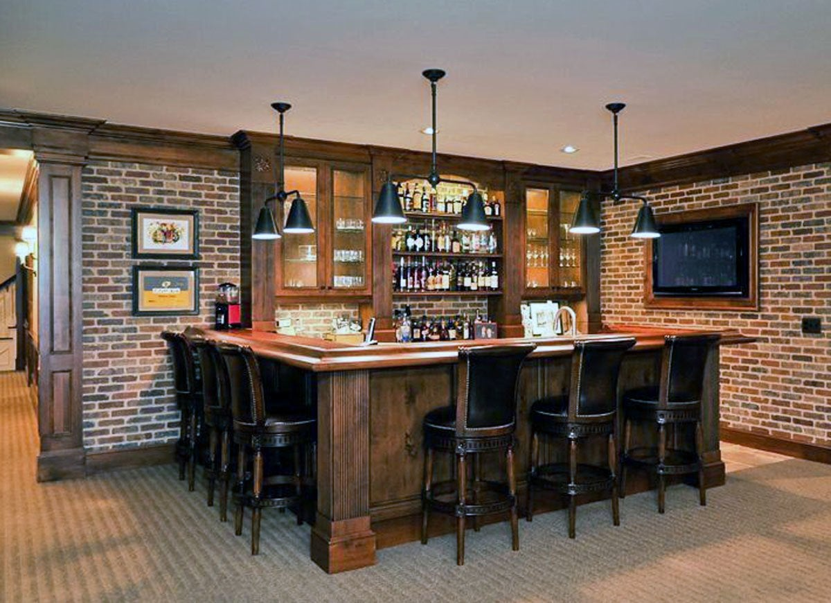 Exposed Brick Bar