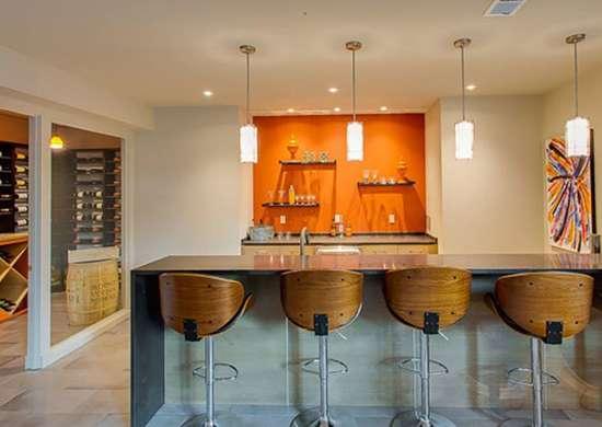 Orange Basement Bar