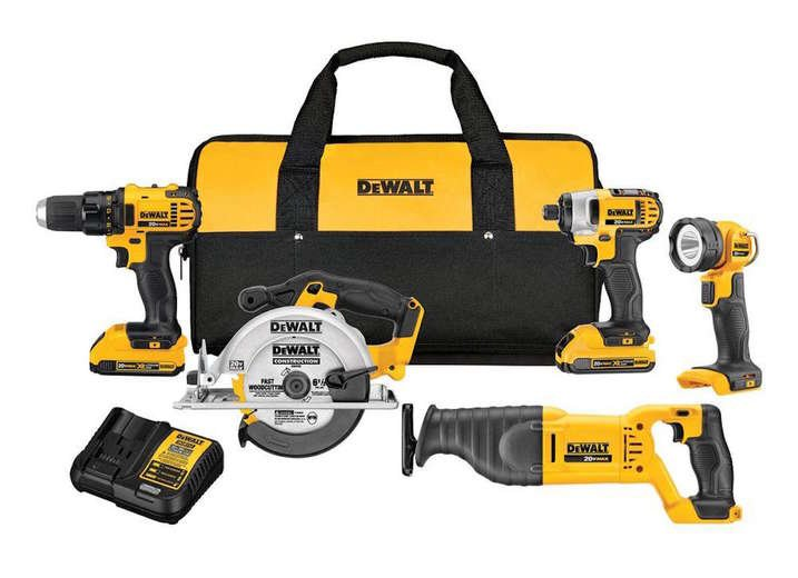 Dewalt power tool combo kits dck520d2 64 1000