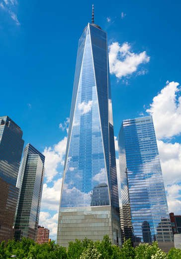 One World Trade Center in New York, NY