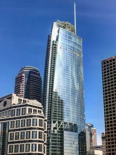 Wilshire Grand Center in Los Angeles, LA