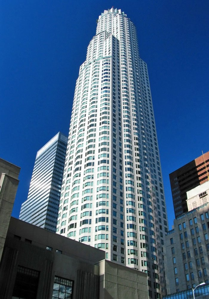 Bank tower