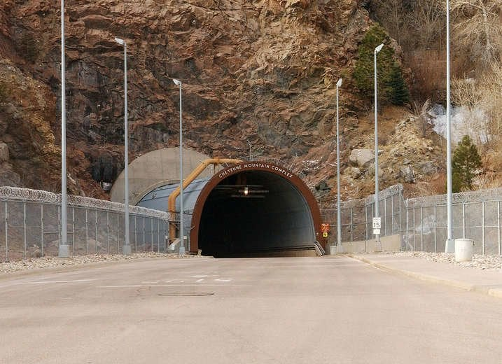Cheyenne Mountain Complex in Colorado Springs, CO
