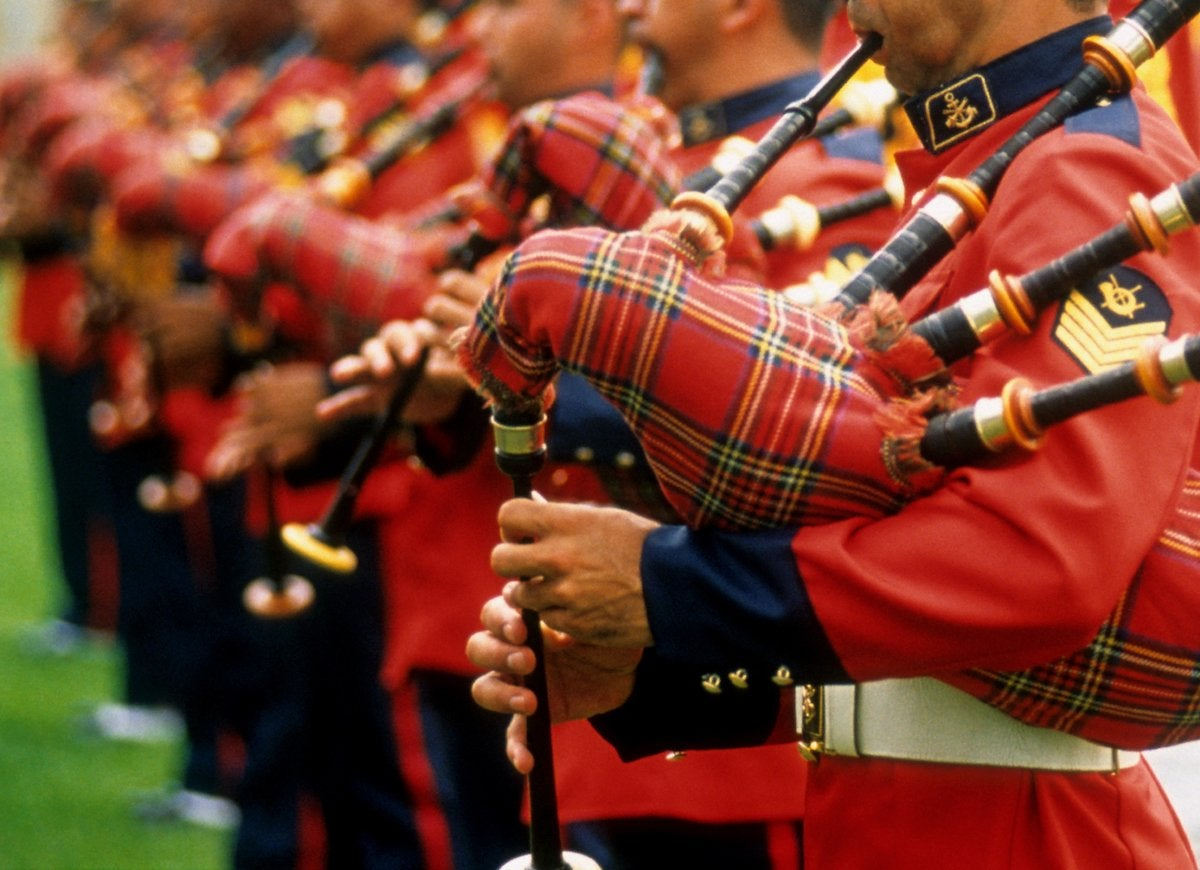 Bagpipes collection