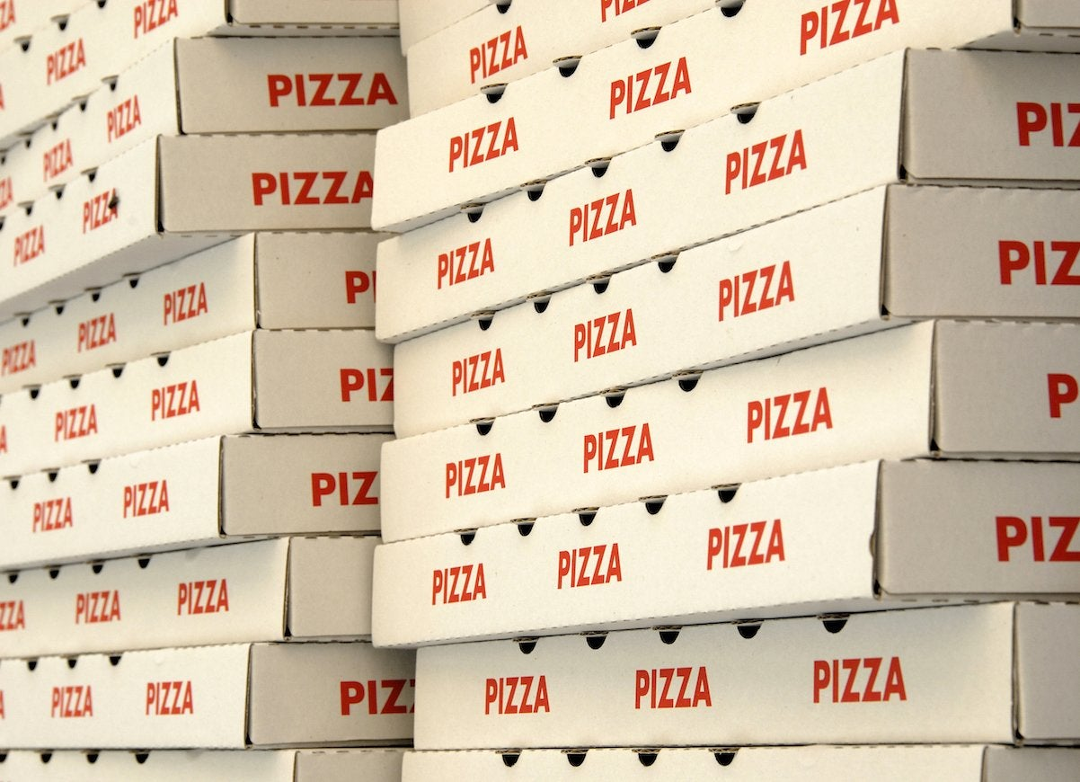 Pizza box collection