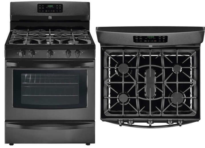 Sleek Gas Range