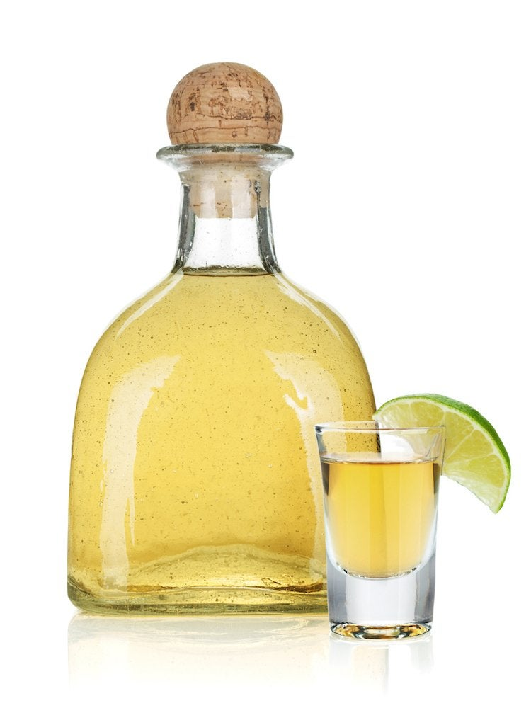 Bottle of tequila